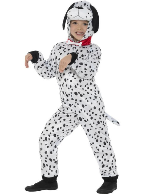 Dalmatian Costume, Children's Animal Fancy Dress. Medium Age 7-9