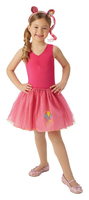 Pinkie Pie Tutu Set Costume, Fancy Dress, One Size, Childrens