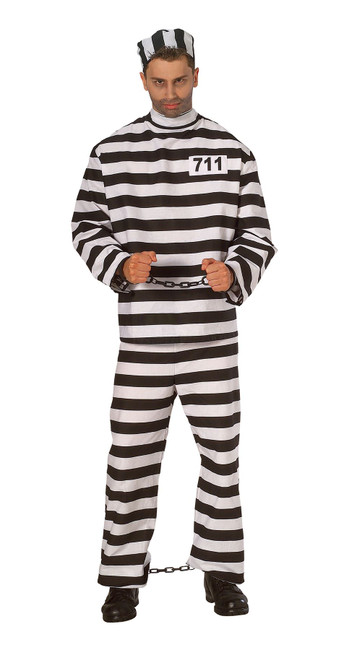Prisoner Man, Costume, Fancy Dress