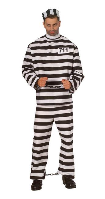 Prisoner Man, Costume, Fancy Dress
