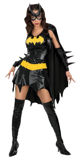 Batgirl (adult) Costume, Fancy Dress, Large, US Size