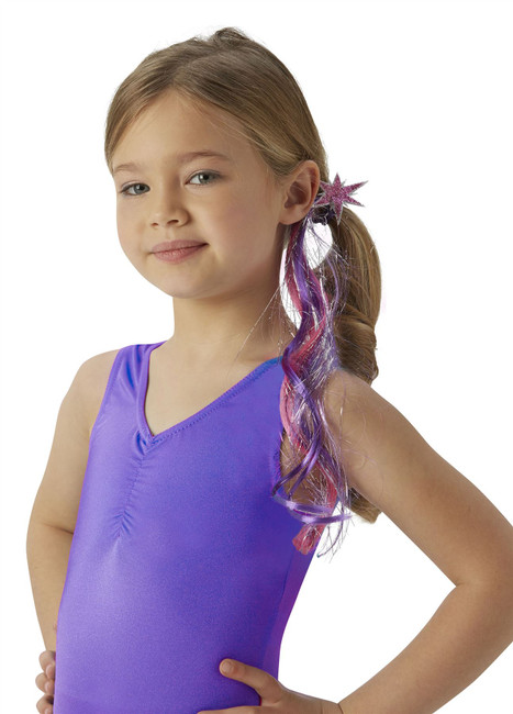 Twilight Sparkle Hair Switch Costume, Fancy Dress, One Size, Childrens