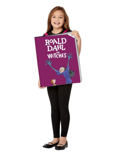 Roald Dahl The Witches Book Cover Costume, Unisex Fancy Dress Costume,