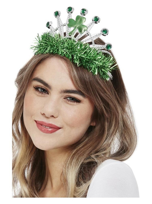 St Patricks, Paddy's Day Tiara Crown,Irish/Ireland Fancy Dress