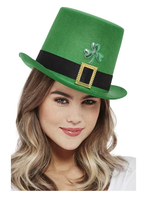 St Patricks, Paddy's Day Top Hat,Irish/Ireland Fancy Dress