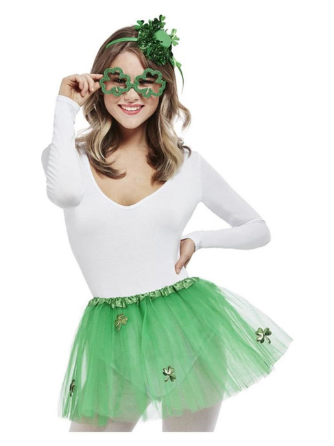 St Patricks, Paddy's Day Party Girl Kit,Irish/Ireland Fancy Dress
