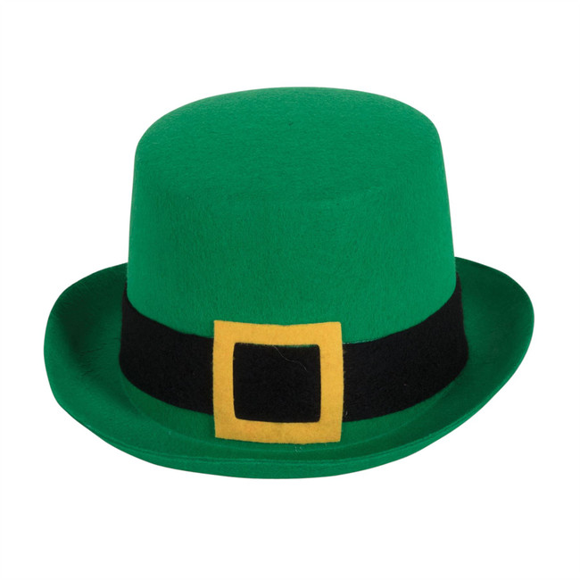 Top Hat Felt Green St. Patricks