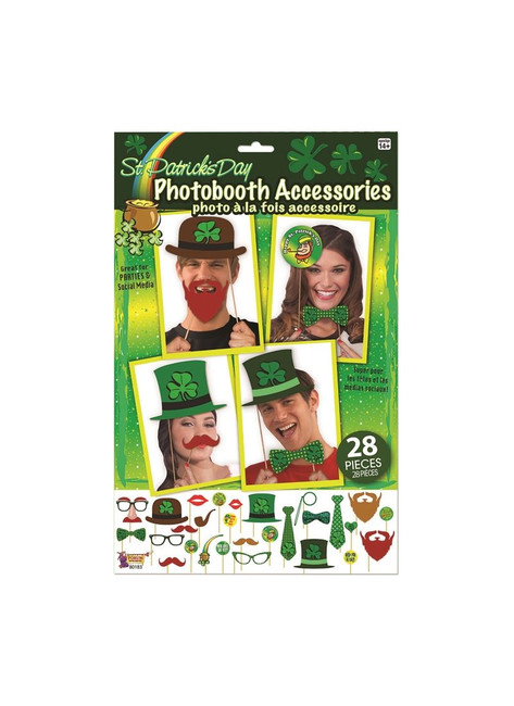 St Patricks Photo Booth Accessories