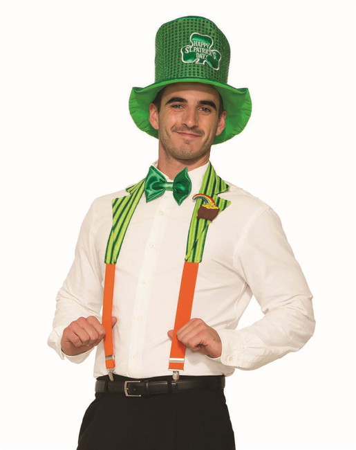 St. Patricks Collar + Braces Set
