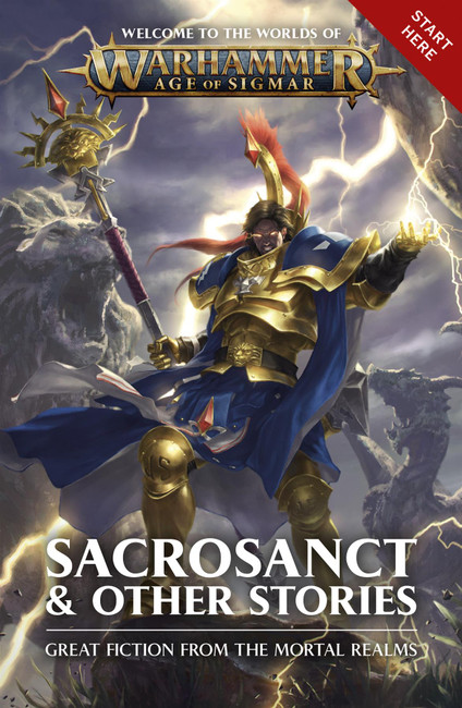 Age of Sigmar: Sacrosanct & Other Stories (Pb), Warhammer Black Library