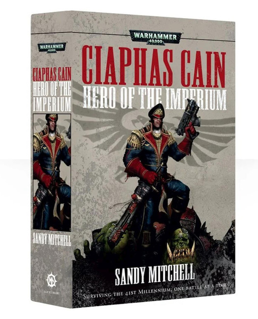 Ciaphas Cain: Hero Of The Imperium, Warhammer 40,000, 40k, Black Library