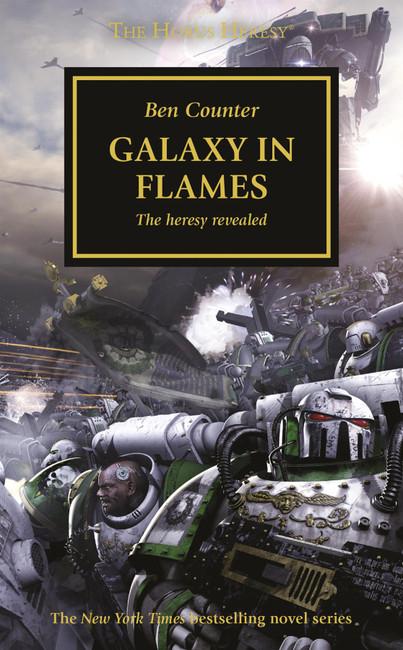 Horus Heresy: Galaxy In Flames, Warhammer 40,000, 40k, Black Library