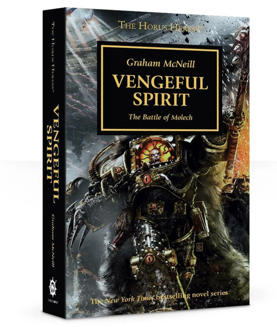 Horus Heresy: Vengeful Spirit, Warhammer 40,000, 40k, Black Library