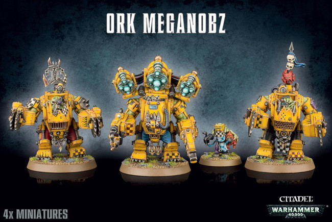 Ork Meganobz, Warhammer 40,000, 40k, Games Workshop