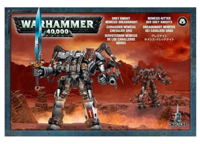 Grey Knights Nemesis Dreadknight, Warhammer 40,000, 40k, Games Workshop