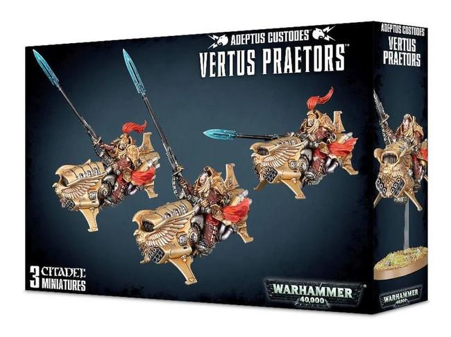 Adeptus Custodes Vertus Praetors, Warhammer 40,000, 40k, Games Workshop