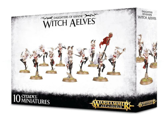 Daughters Of Khaine Witch Aelves, Warhammer Age of Sigmar