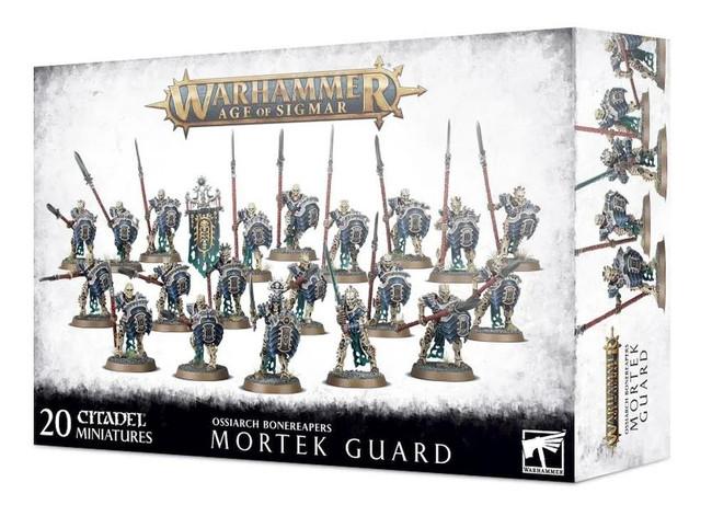 Ossiarch Bonereapers Mortek Guard, Warhammer Age of Sigmar