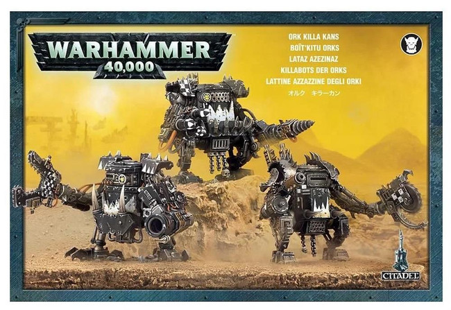 Ork Killa Kans, Warhammer 40,000, 40k, Games Workshop