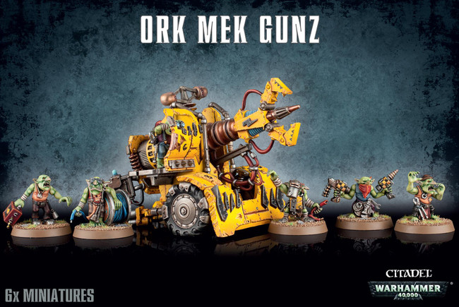 Ork Mek Gun, Warhammer 40,000, 40k, Games Workshop