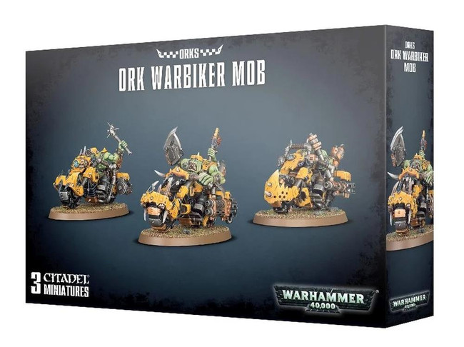 Ork Warbiker Mob, Warhammer 40,000, 40k, Games Workshop