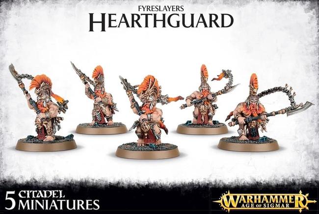 Fyreslayers Hearthguard, Warhammer Age of Sigmar