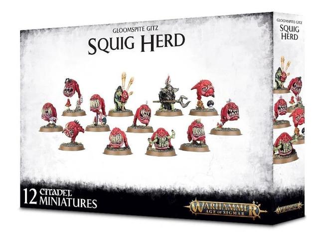 Gloomspite Gitz Squig Herd, Warhammer Age of Sigmar