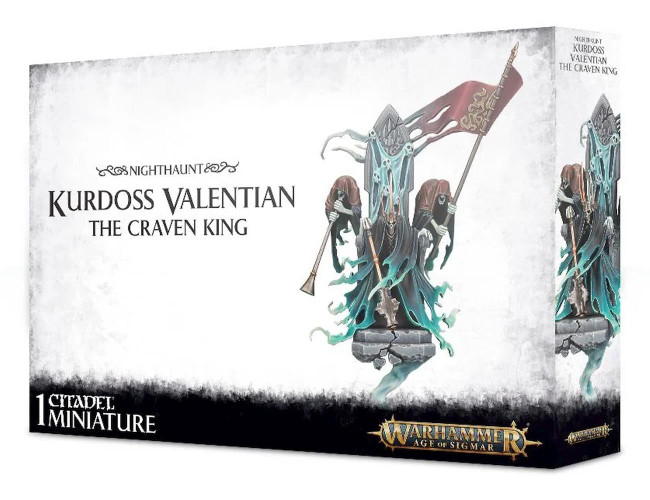 Kurdoss Valentian The Craven King, Warhammer Age of Sigmar