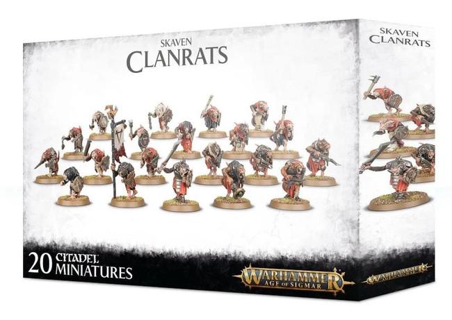 Skaven Clanrats, Warhammer Age of Sigmar