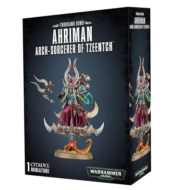 Ahriman Arch-Sorcerer Of Tzeentch, Warhammer 40,000, 40k, Games Workshop