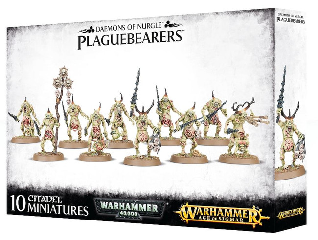 Daemons Of Nurgle Plaguebearers, Warhammer Age of Sigmar