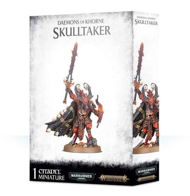 Daemons Of Khorne Skulltaker, Warhammer Age of Sigmar