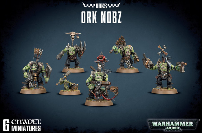 Ork Nobz, Warhammer 40,000, 40k, Games Workshop
