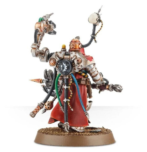 Astra Militarum Tech-Priest Enginseer, Warhammer 40,000, 40k, Games Workshop
