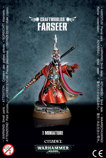 Craftworlds Farseer, Warhammer 40,000, 40k, Games Workshop