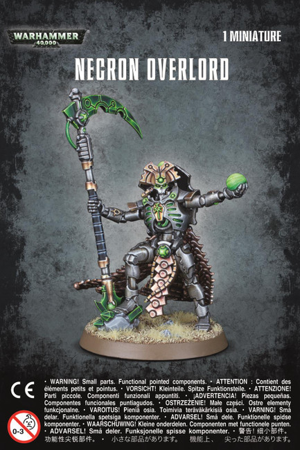 Necron Overlord, Warhammer 40,000, 40k, Games Workshop