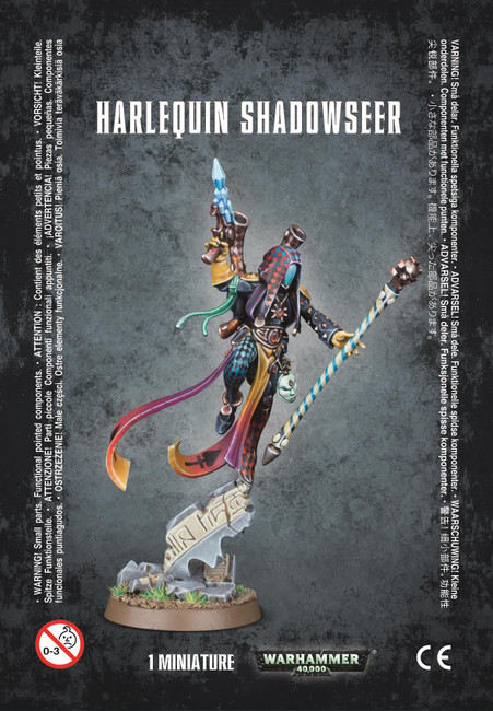 Harlequin Shadowseer, Warhammer 40,000, 40k, Games Workshop