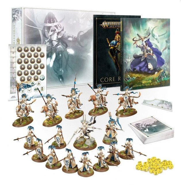 LIMITED EDITION - Lumineth Realm-lords Army Set