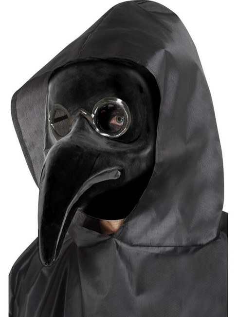 Authentic Plague Doctor Mask, Halloween, Carnival of the Damned Fancy Dress