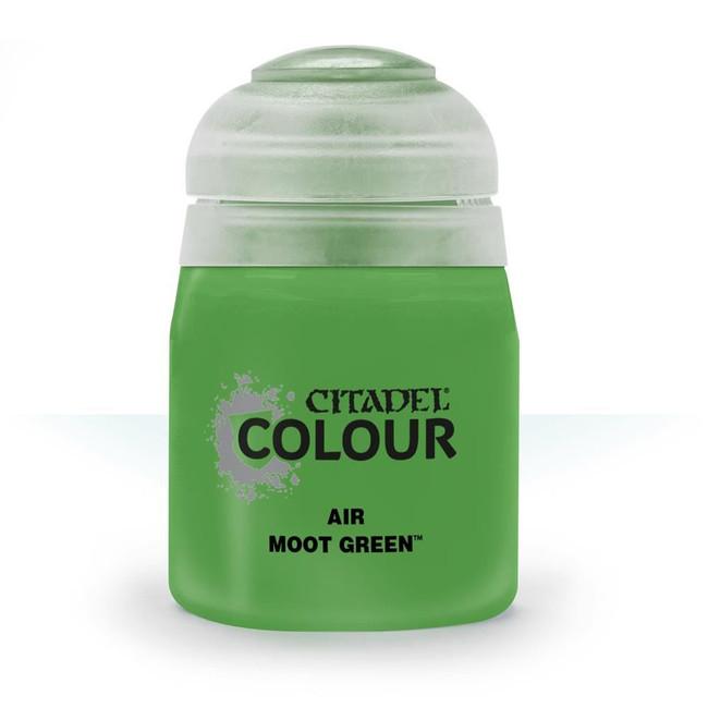 Air Brush Paint: Moot Green (24ml) , Citadel/Warhammer Hobby
