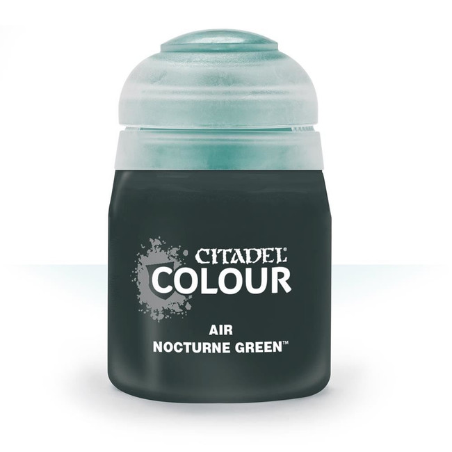 Air Brush Paint: Nocturne Green (24ml) , Citadel/Warhammer Hobby