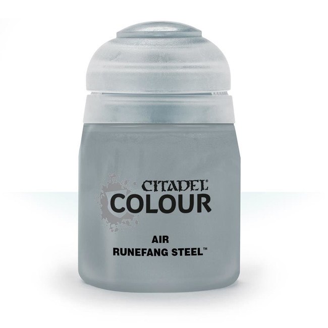 Air Brush Paint: Runefang Steel (24ml) , Citadel/Warhammer Hobby