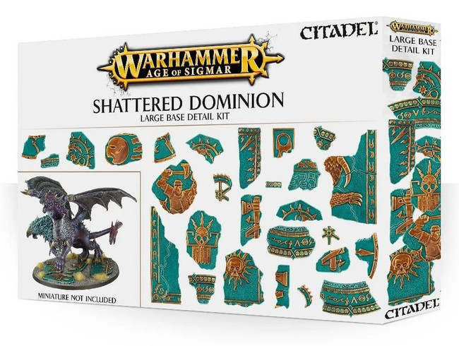 Warhammer Age of Sigmar Shattered Dominion Large Bases