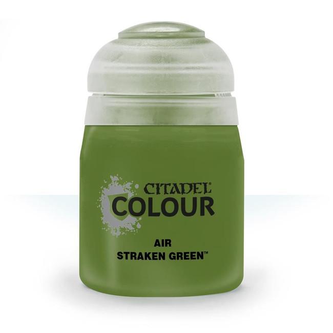 Air Brush Paint: Straken Green (24ml) , Citadel/Warhammer Hobby