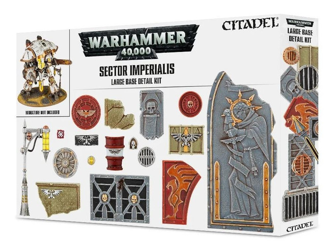 Sector Imperialis: Large Base Detail Kit, Citadel/Warhammer Hobby