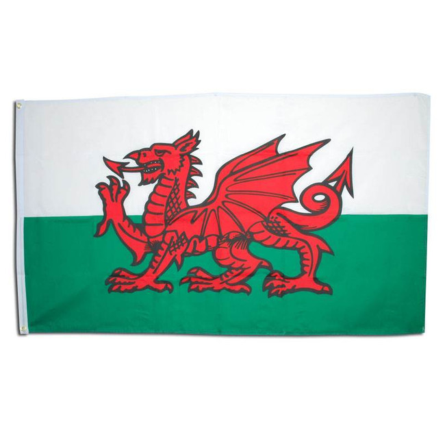 Welsh Flag. 3' x 5' Cloth.