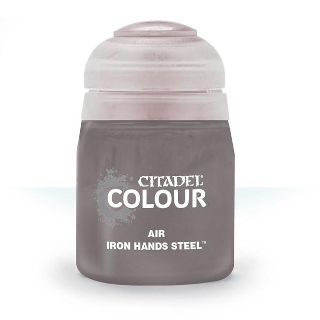 Air Brush Paint: Iron Hands Steel (24ml) , Citadel/Warhammer Hobby