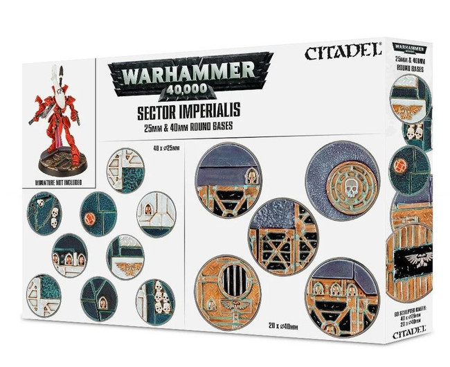 Sector Imperialis: 25 & 40Mm Round Bases, Citadel/Warhammer Hobby