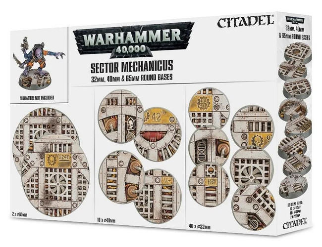 Sector Mechanicus: Industrial Bases, Citadel/Warhammer Hobby