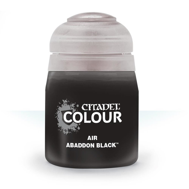 Air Brush Paint: Abaddon Black (24ml) , Citadel/Warhammer Hobby